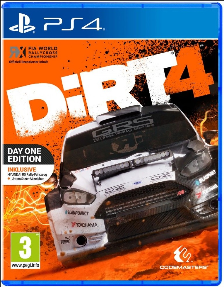 Cover: Ein Rally Rennauto