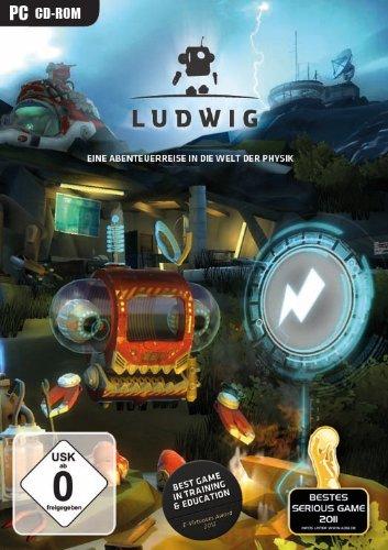 Cover vom Ludwig mit einem Roboter
