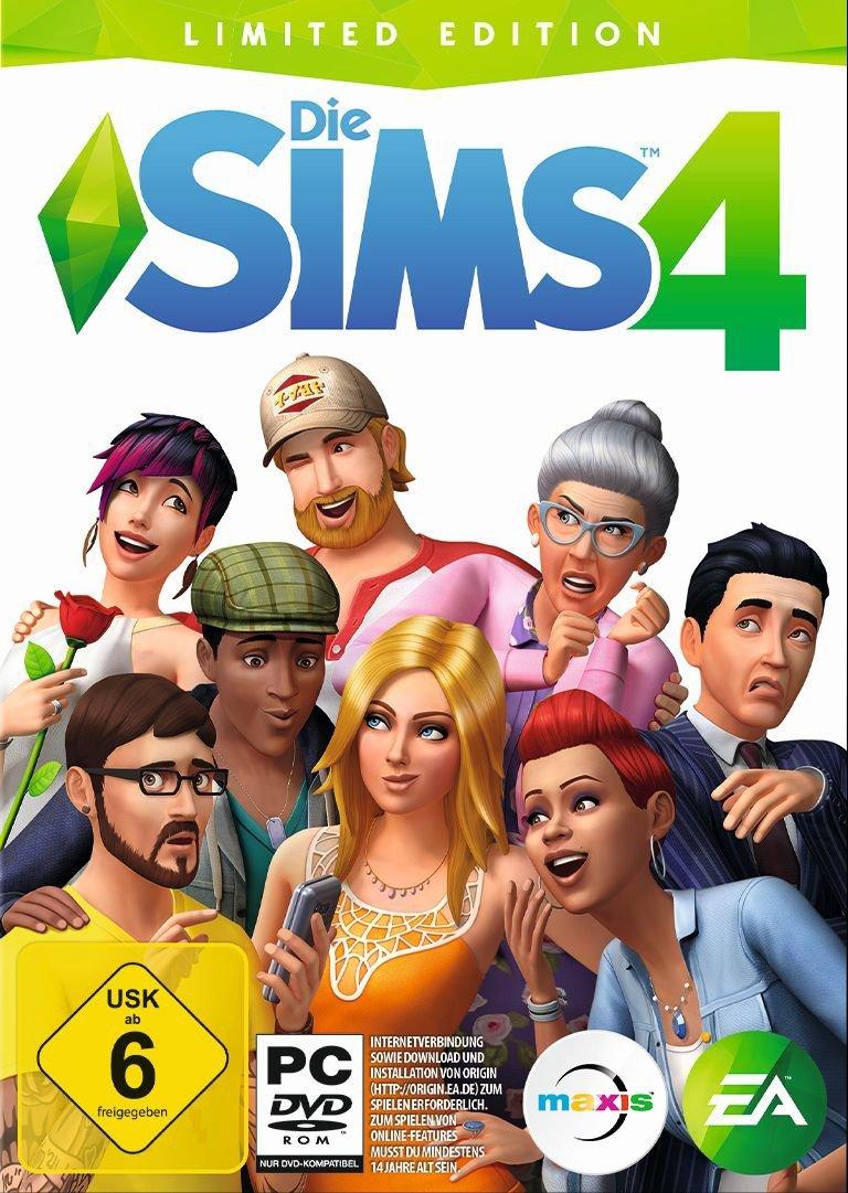 Cover vom Spiel mit vielen, individuell gestalteten Sims