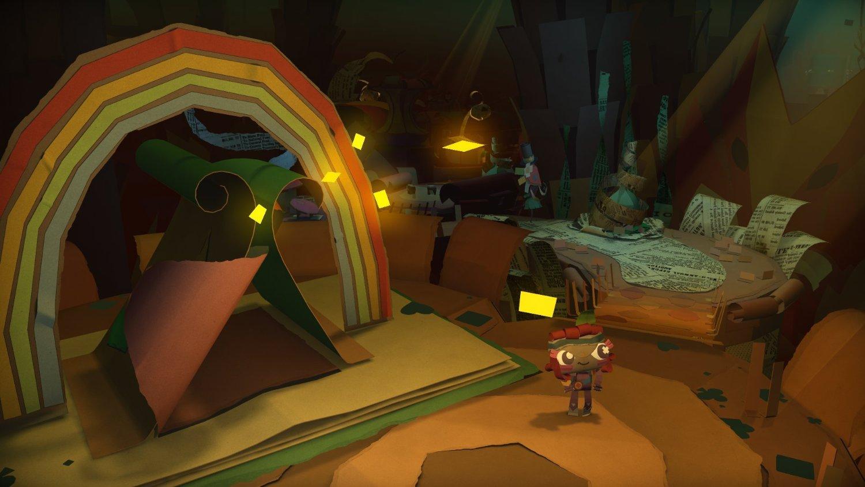 Screenshot: Eine Figur läuft durch eine fantastische Welt