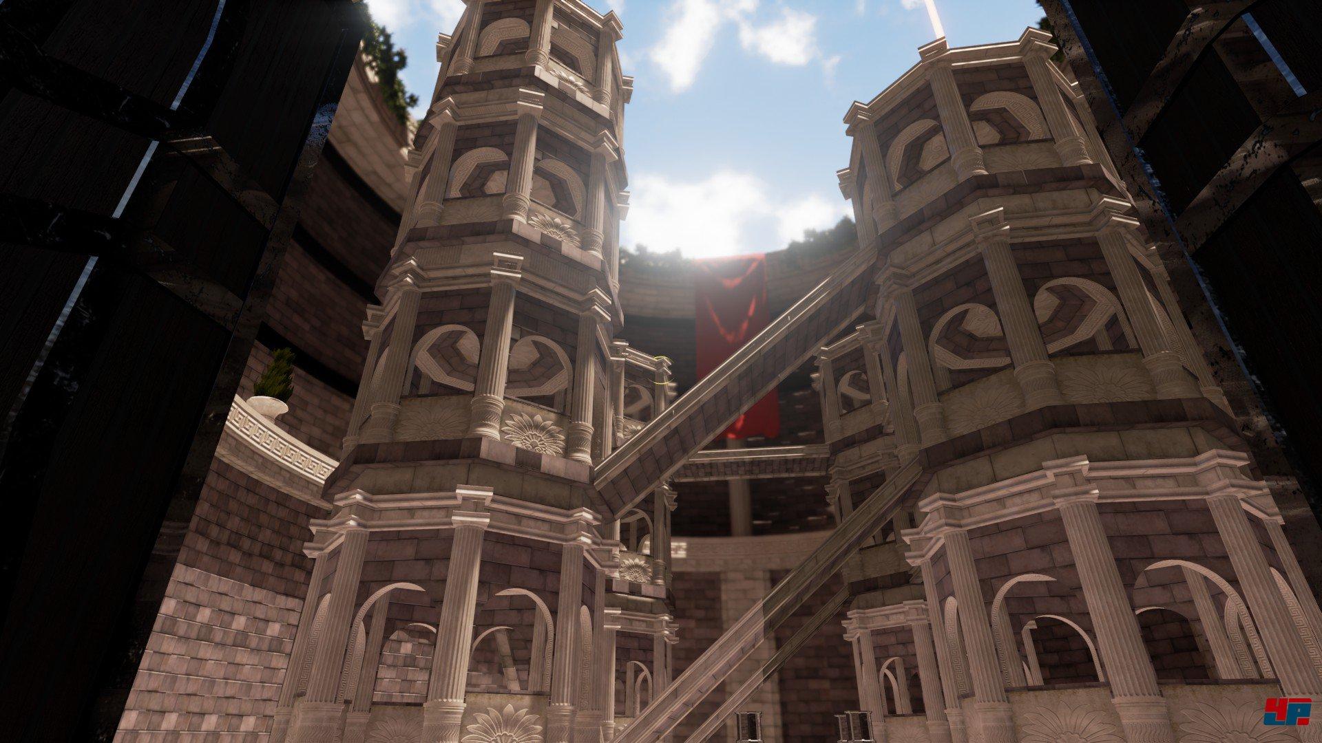 Screenshot: hohes Gebäude