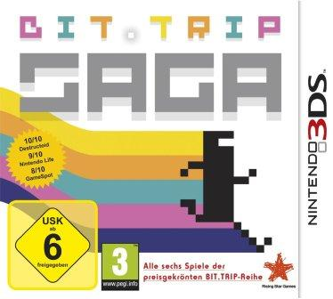 Das Titelbild zeigt eine Spielfigur im 8-Bit-Stil.