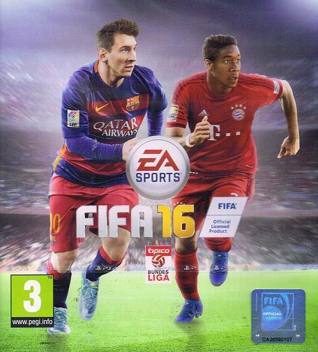 Cover: Messi und Alaba laufen am Fußballfeld