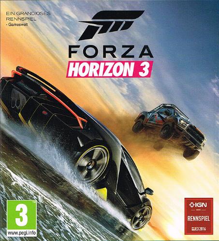 Das Cover zeigt einen Wagen, der über einen anderen springt.