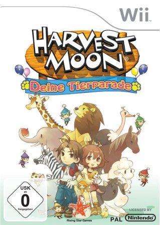 Das Titelbild zeigt zwei Spielcharaktere und einige Tiere.