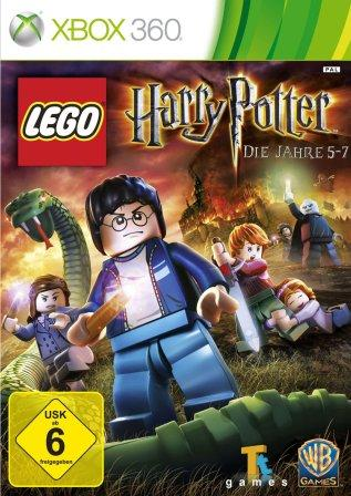 Das Coverbild von Lego Harry Potter zeigt Harry Potter als Legofigur