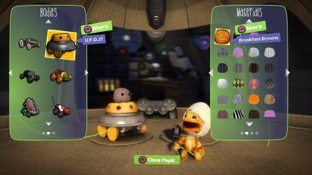 Zwei Spielfiguren und ihre Gestaltungsmenüs.