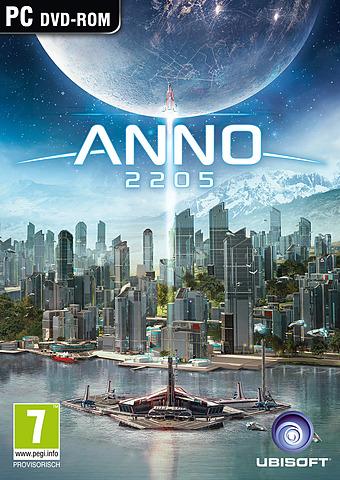 Cover vom Spiel mit einer modernen Stadt mit Wolkenkratzern und dem Mond im Hintergrund.