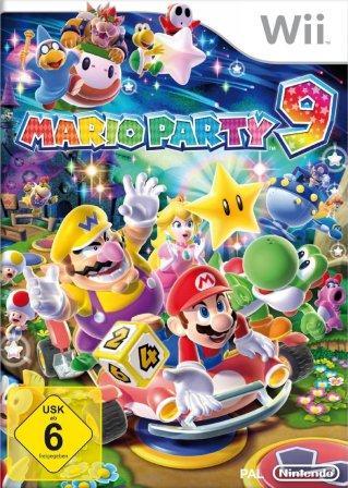 Die Mario-Stars machen Party.