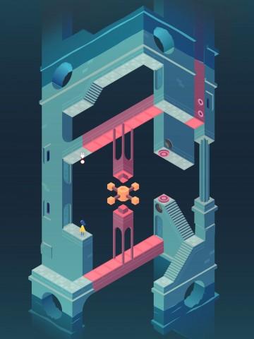 M.C. Escher anmutende Spielwelt