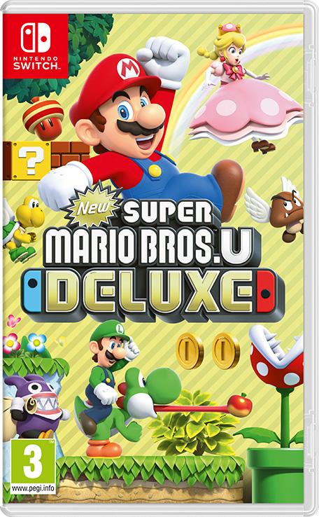Cover des Spiels: Einige Nintendo Charaktere, Mario, Peach, Luigi etc.