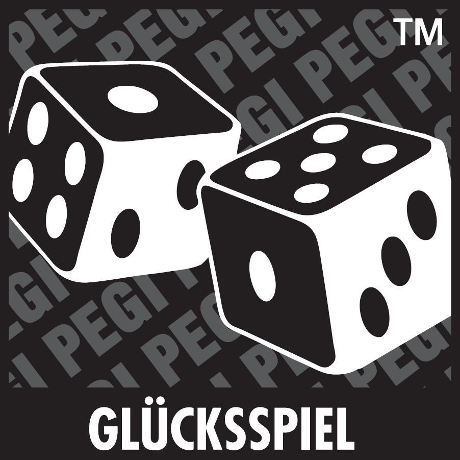 PEGI Inhaltsbeurteilung Glücksspiel