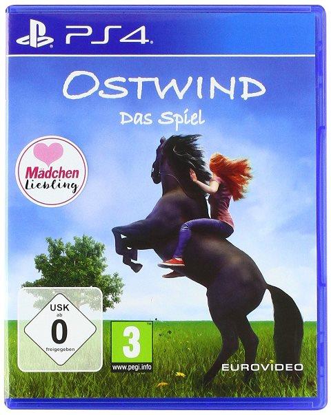 Cover des Spiels: Frau reitet auf Pferd, welches auf den Hinterbeinen steht.