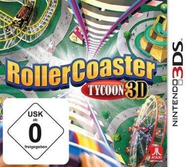 Das Coverbild zeigt eine wilde Achterbahn von oben.