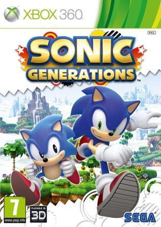 Das Coverbild zeigt Classic Sonic und Modern Sonic.
