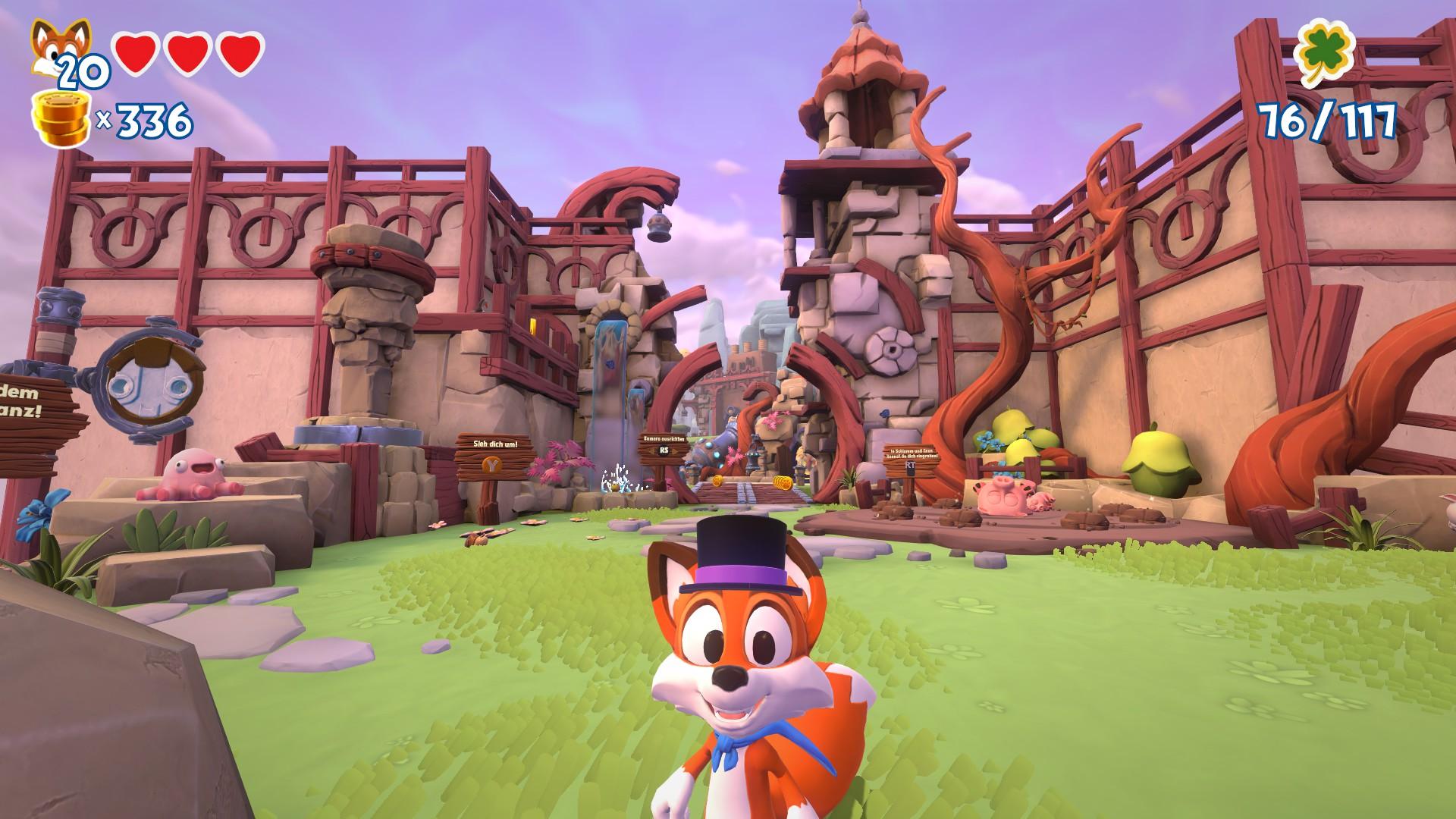 Screenshot des Spieles