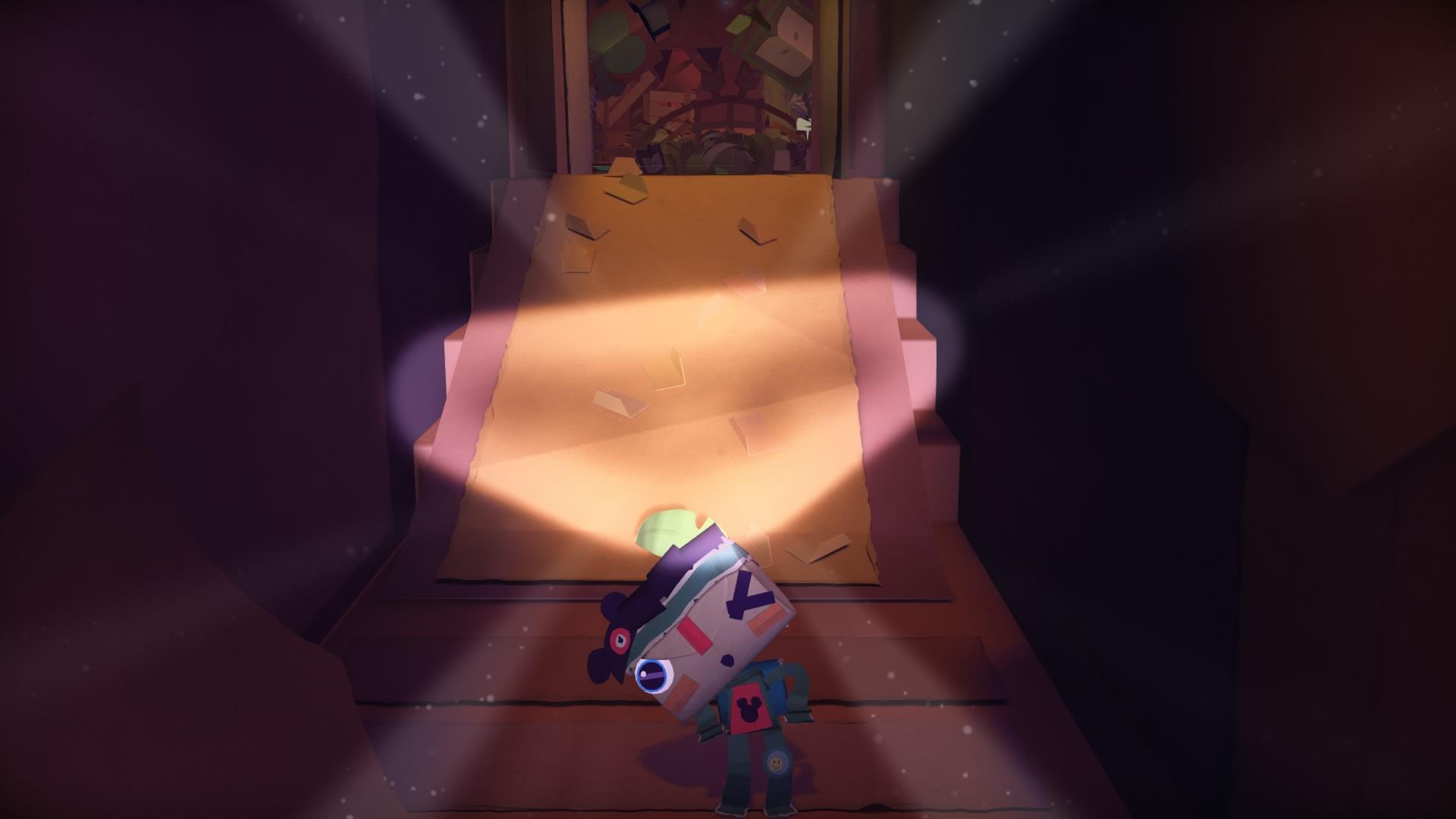 Screenshot: Scheinwerfer