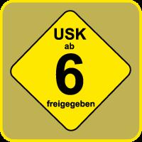 Kennzeichen USK: Freigegeben ab 6 Jahren
