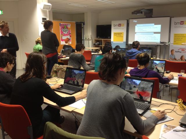 Workshop in der Medien-Jugend-Info