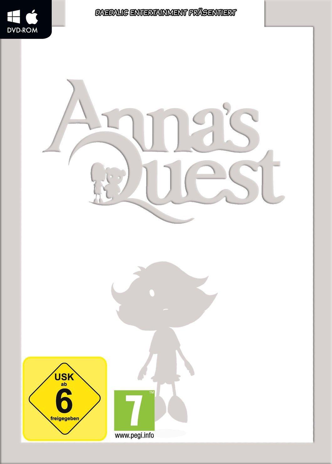 Cover: Silhouette eines Mädchens und Schriftzug mit dem Titel des Spiels