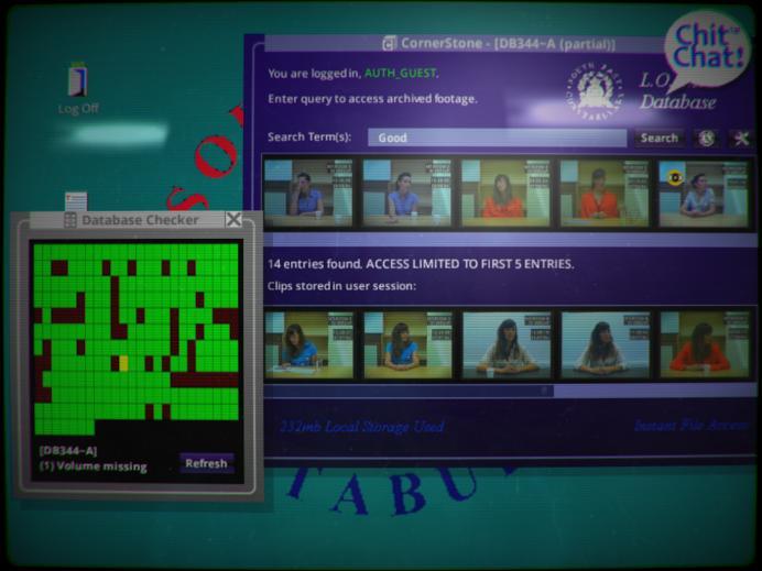 Screenshot: Bildschirm mit einerseits einem Diagramm über bereits gesehene Videos, andererseits über Videos, die einen Suchbegriff enthalten