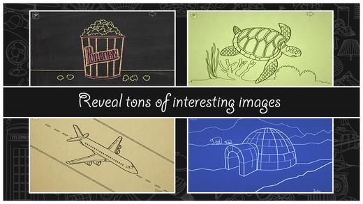 Verschiedene Motive werden gezeigt: Schildkröte, Flugzeug etc.
