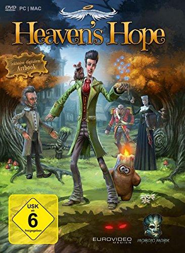 Cover: Mehrere Figuren im Comicstil stehen im Wald, darunter der Engel Talorel und leuchtende, dämonische Augen.