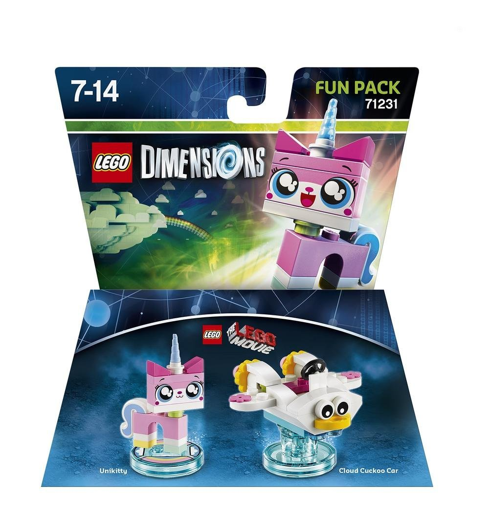 """Erweiterung: """"LEGO Movie"""" Funpack: Einhorn Kitty und Fahrzeug"""