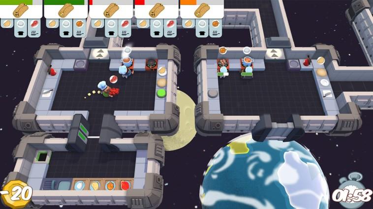 Screenshot: Fließbänder