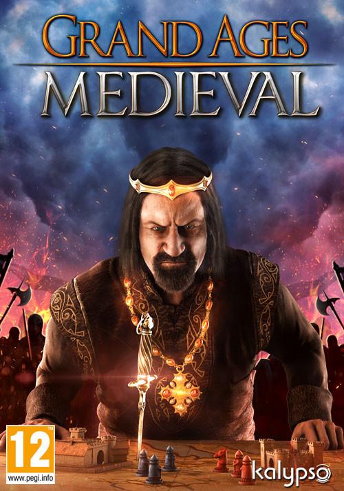 Cover: Man sieht einen mittelalterlichen König, der konzentriert auf ein Spielbrett schaut