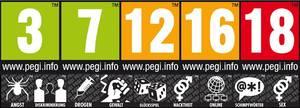 Alle PEGI Symbole auf einen Blick