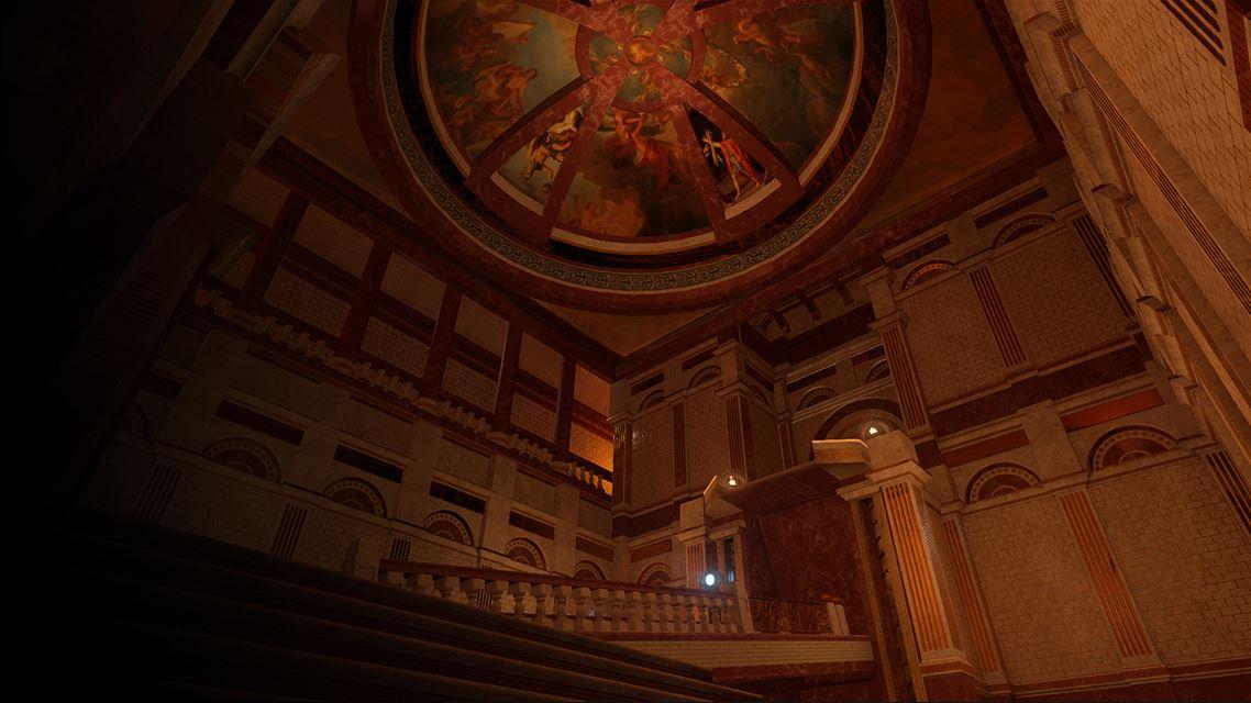 Screenshot: Kuppel
