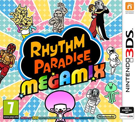 Cover: Schriftzug und ein paar der Charaktere aus den Spielen