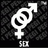 PEGI Symbol Sex: Zeichen von Mann und Frau