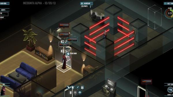 Screenshot: Lasergefängnis