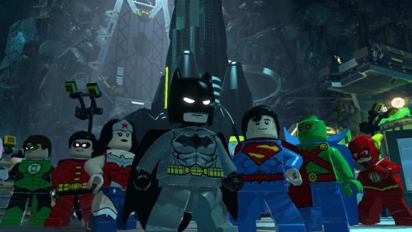 Versammlung von Superhelden