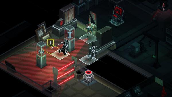 Screenshot: Deckung des Agenten