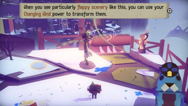 Screenshot: Eine Figur setzt ihre magischen Kräfte ein
