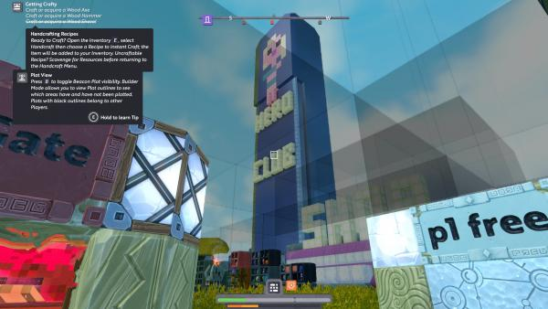Screenshot des Spiels Boundless