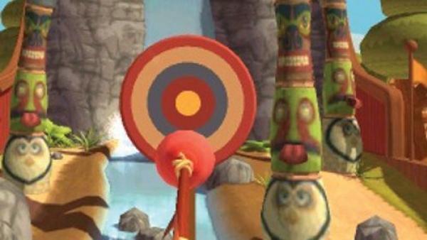 Ein Pfeil wird auf eine Zielscheibe gerichtet.