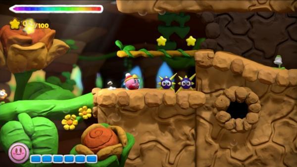 Screenshot: Kirby trägt Mütze
