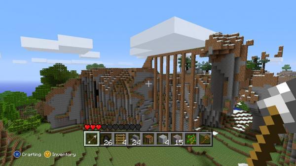 Bauwerk und Baumenü