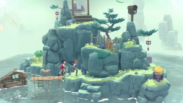 Screenshot des Spiels The Gardens Between