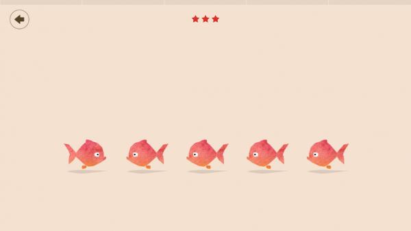 Screenshot: Fehlersuchbild mit Fischen