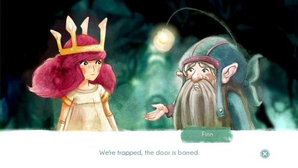 Dialogsequenz - Nahaufnahme von Aurora und Finn