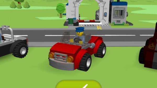 Screenshot: neues LEGO-Auto
