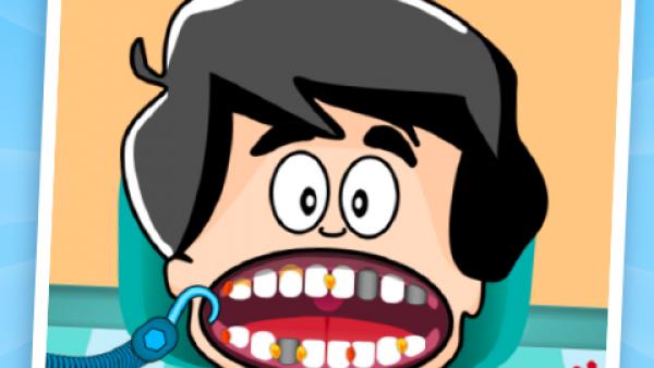 Screenshot: ein Kind beim Zahnarzt