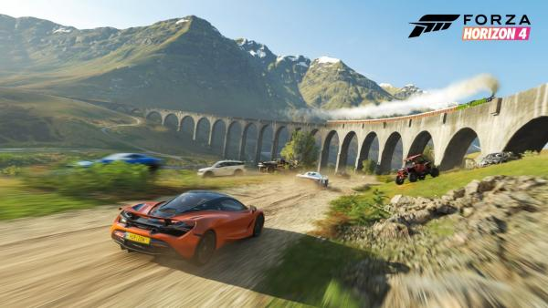Screenshot des Spiels Forza Horizon 4