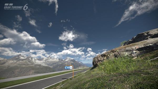 Rennstrecke in Gran Turismo 6.