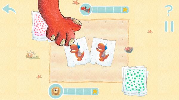 Screenshot: ein Kartenspiel